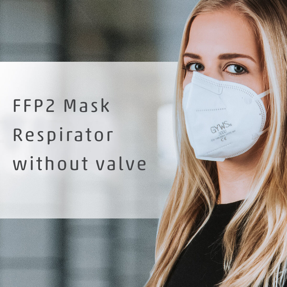 FFP2 Valveless Protective Mask
