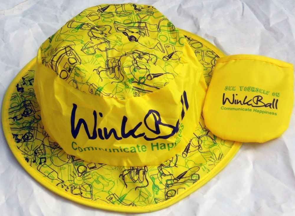 Pop Out Promotional Nylon Hats