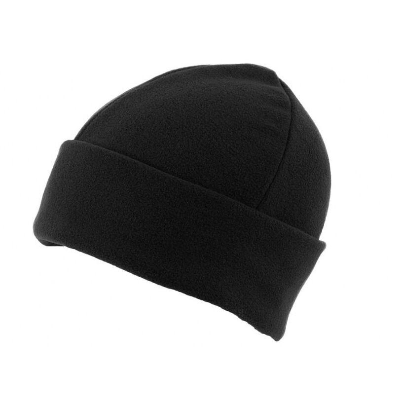 Fleece Beanie Hats - Black