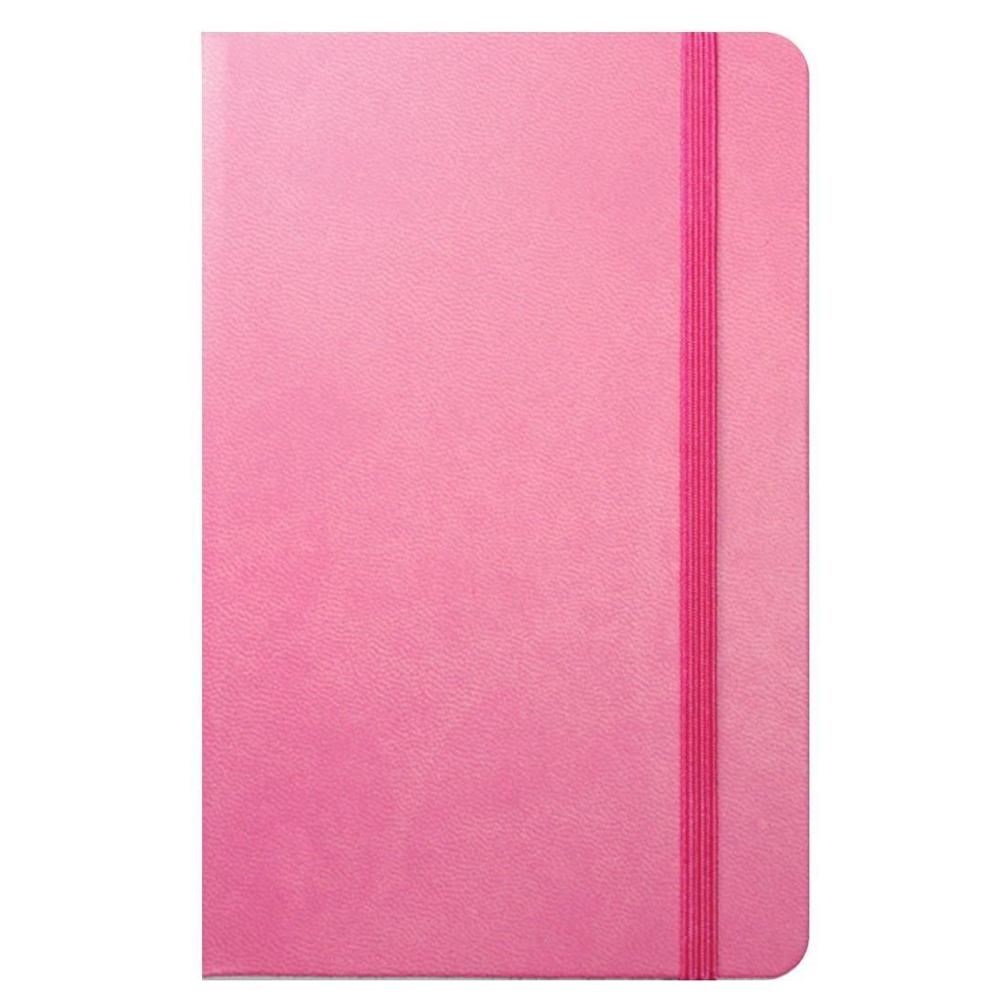Flexi Pocket Ruled Notebook - Pink