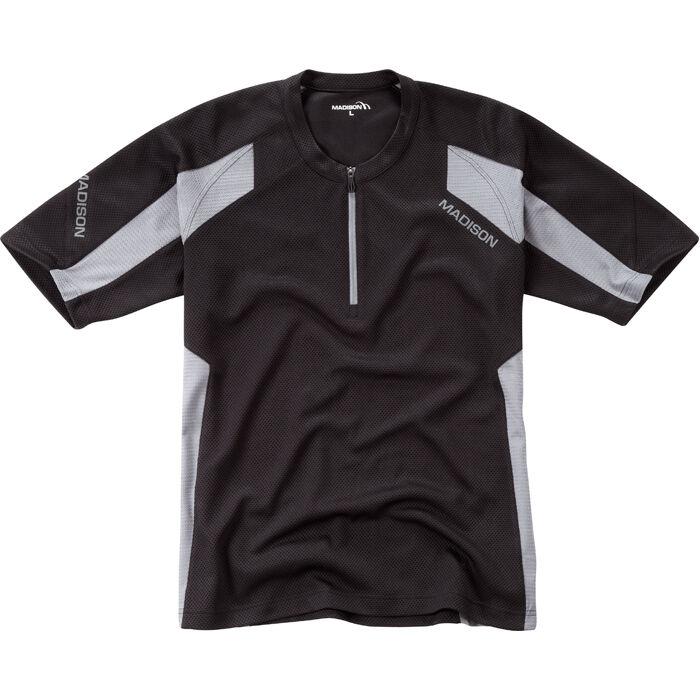 Flux Singletrack Men's S/S Jersey - Black