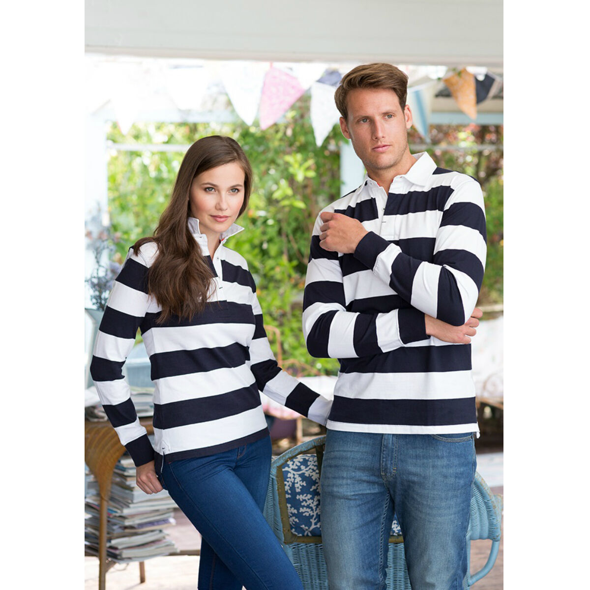 Front Row Long Sleeved Rugby Shirt