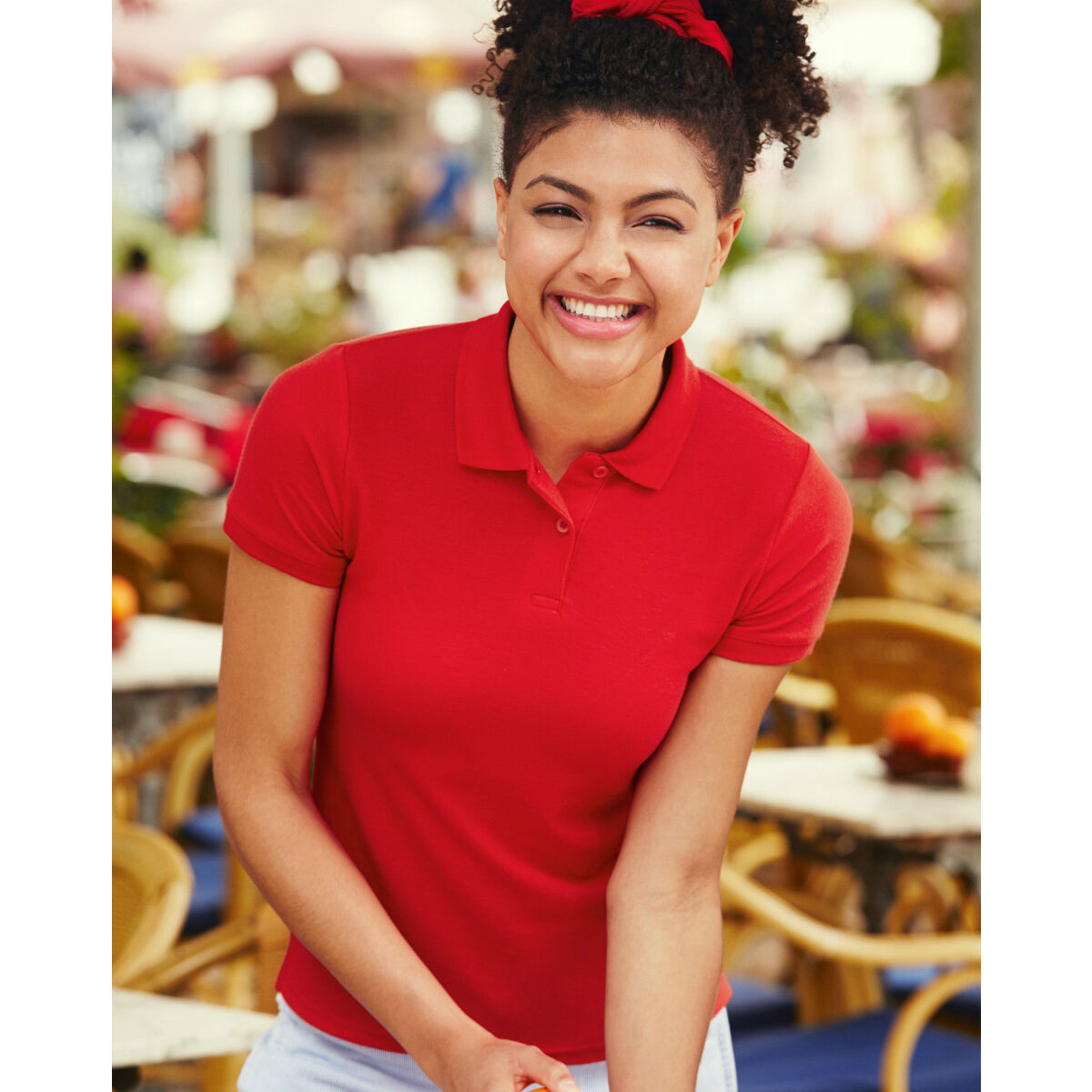 Fruit of the Loom Lady Fit Polo Shirt