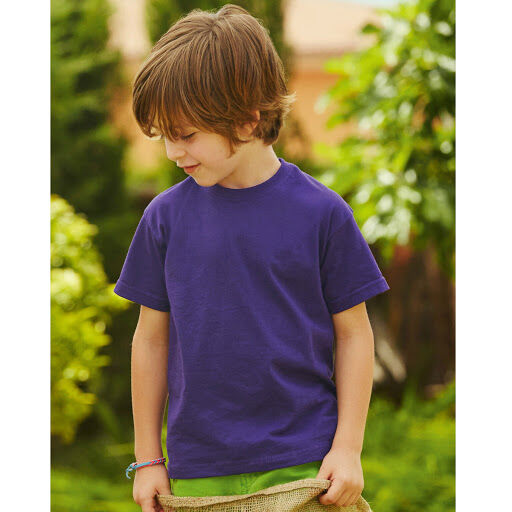 Fruit Of The Loom Boy's Value T-Shirt