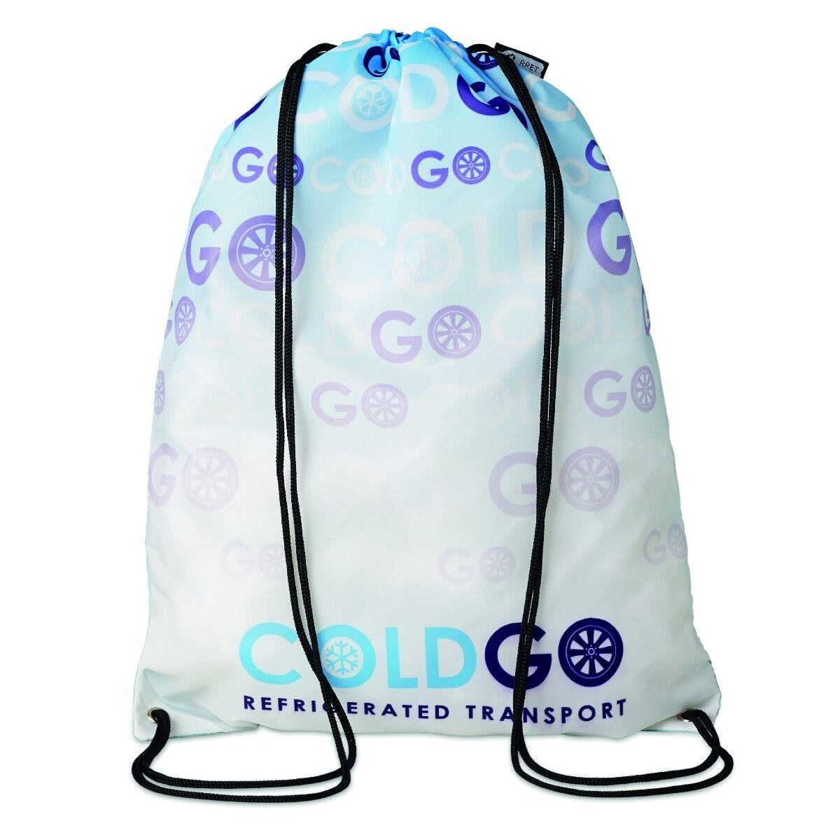 Recycled drawstring Bag Fully Customised