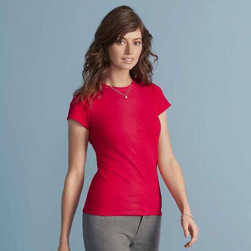 Gildan Ladies' Soft Style T-Shirt - Red