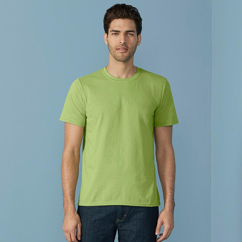 Gildan Men's Soft-Style T-Shirt - Green