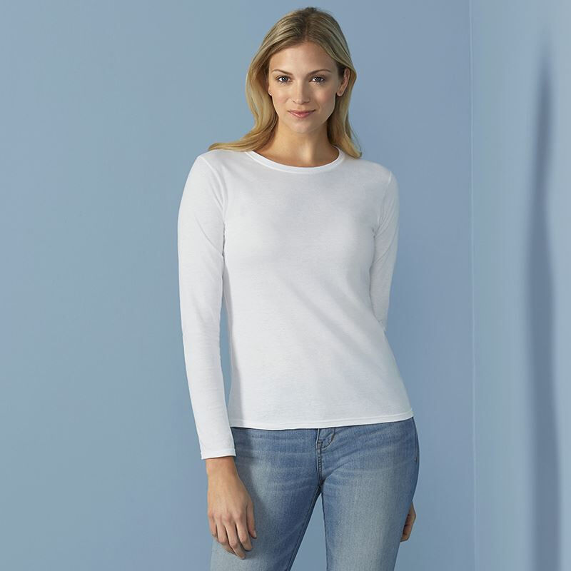 Ladies Softstyle Long Sleeve T-Shirt