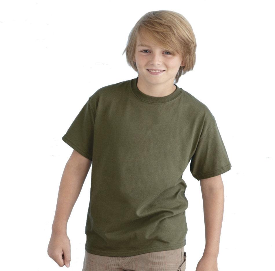 Children's Heavyweight Cotton T-Shirt to Brand