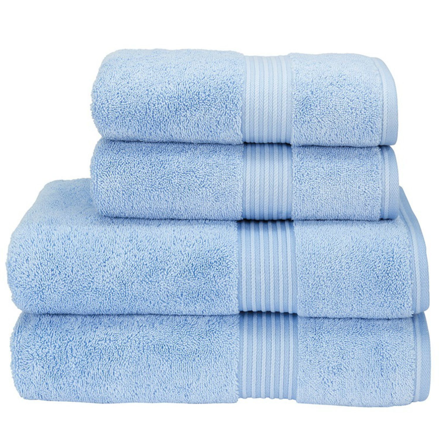 Christy Hotel Towels (Sky)