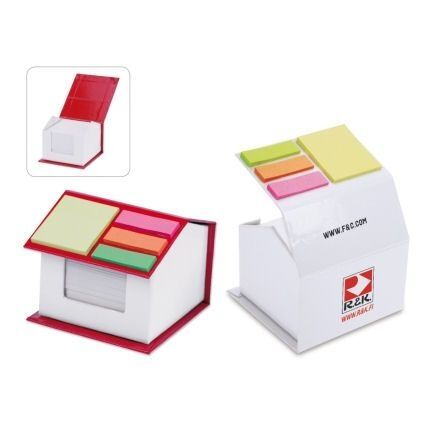 House Shaped Branded Notepad