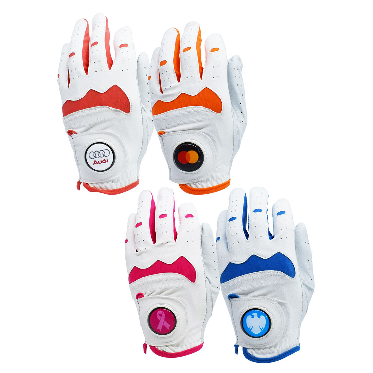 Leather Cabretta Golf Gloves Full Colour Printed