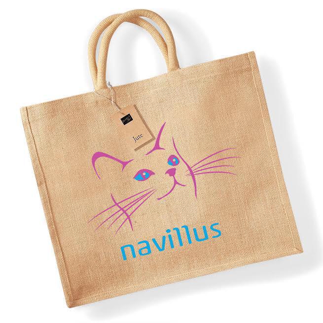 Custom Branded Jute Shopper Bags