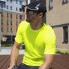 Spiro Aircool T-shirts - Fluorescent Yellow