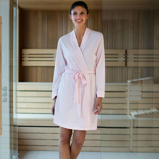 Women's Hotel Wrap Robe (Pink)