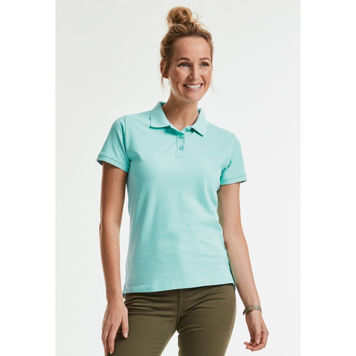 Russell Ladies Organic Polo