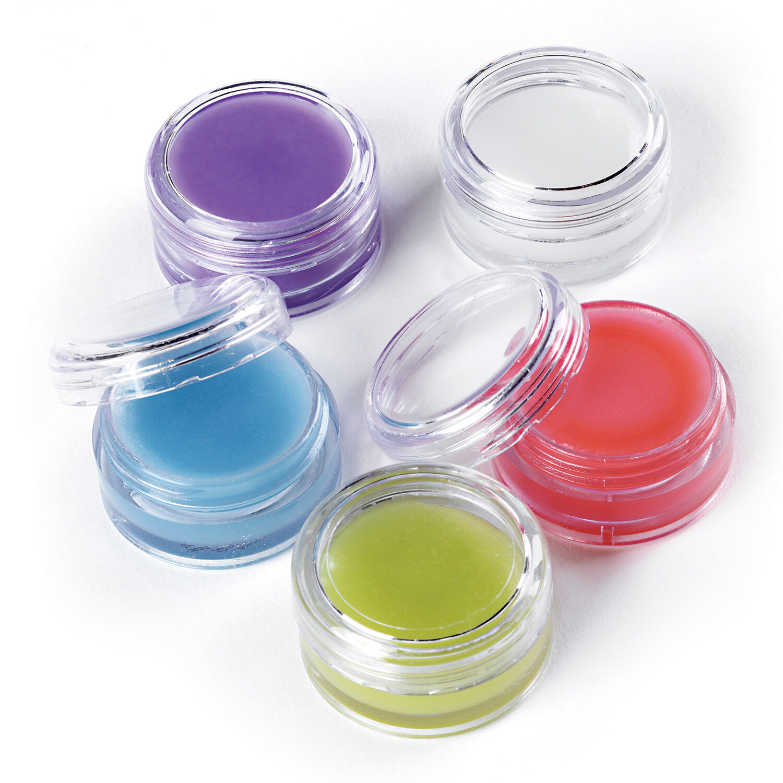 Flavoured Lip Balm Jars to Print