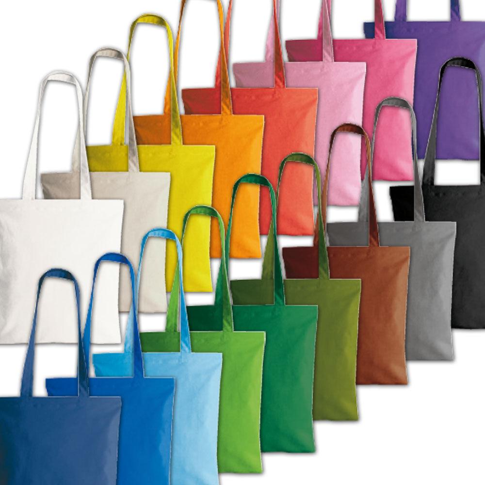Colourful Cotton Canvas Tote bags