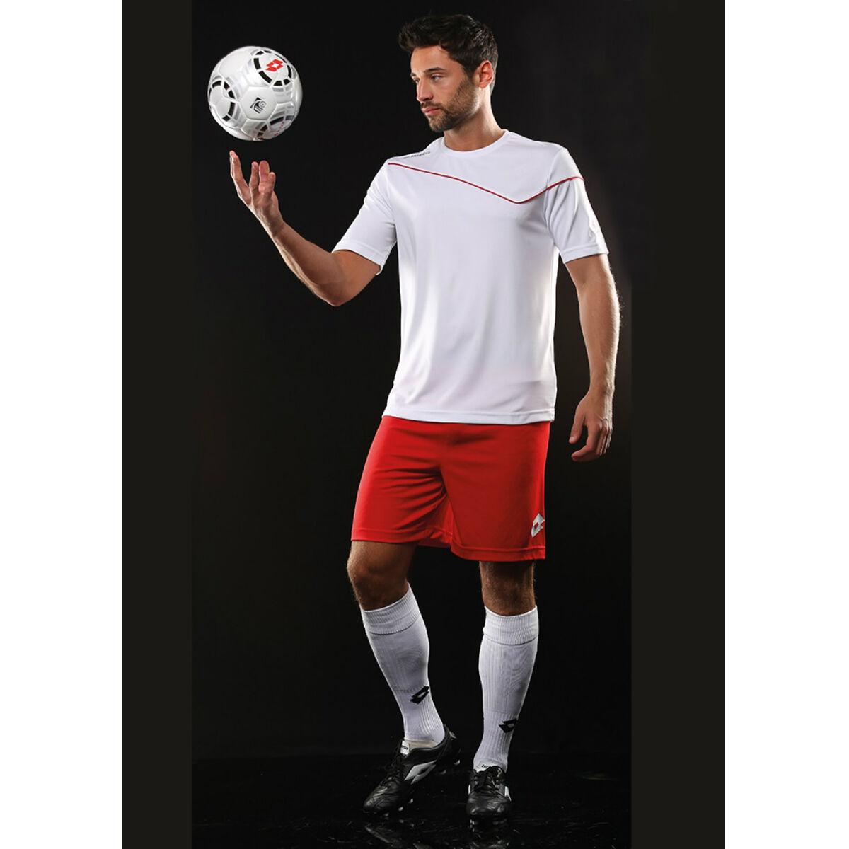 Lotto Short Sleeved Football Kit (White / Flame)