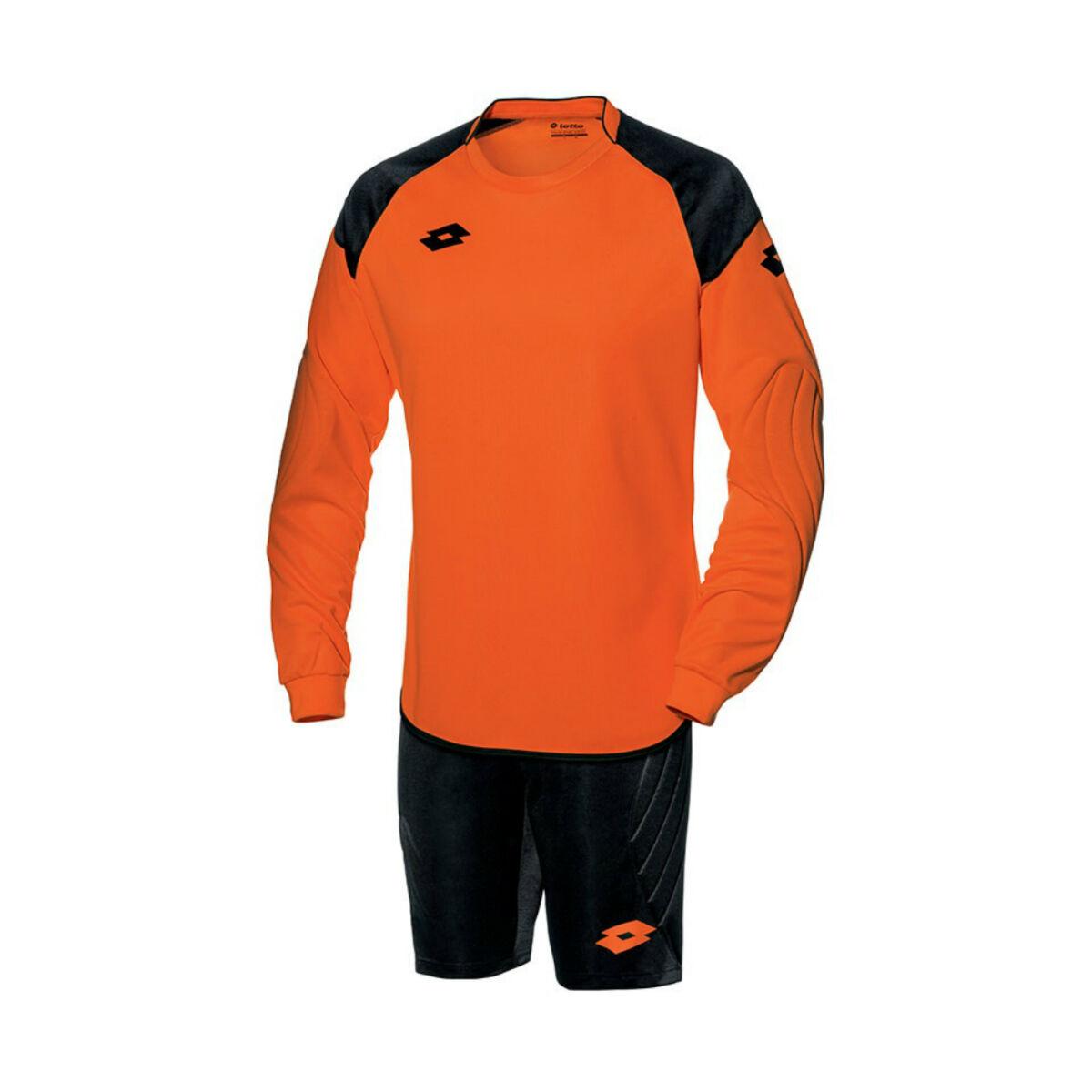 Lotto Goalkeeper Kit (Fluo Fanta / Black)
