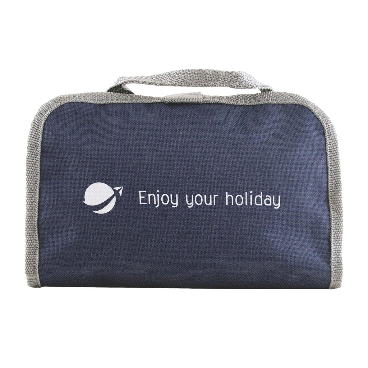 Enterprise Costmetics Travel Bag Navy