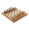 Luxury wooden foldable chess set