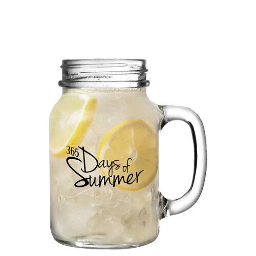 Jam Jar Drinking Glasses