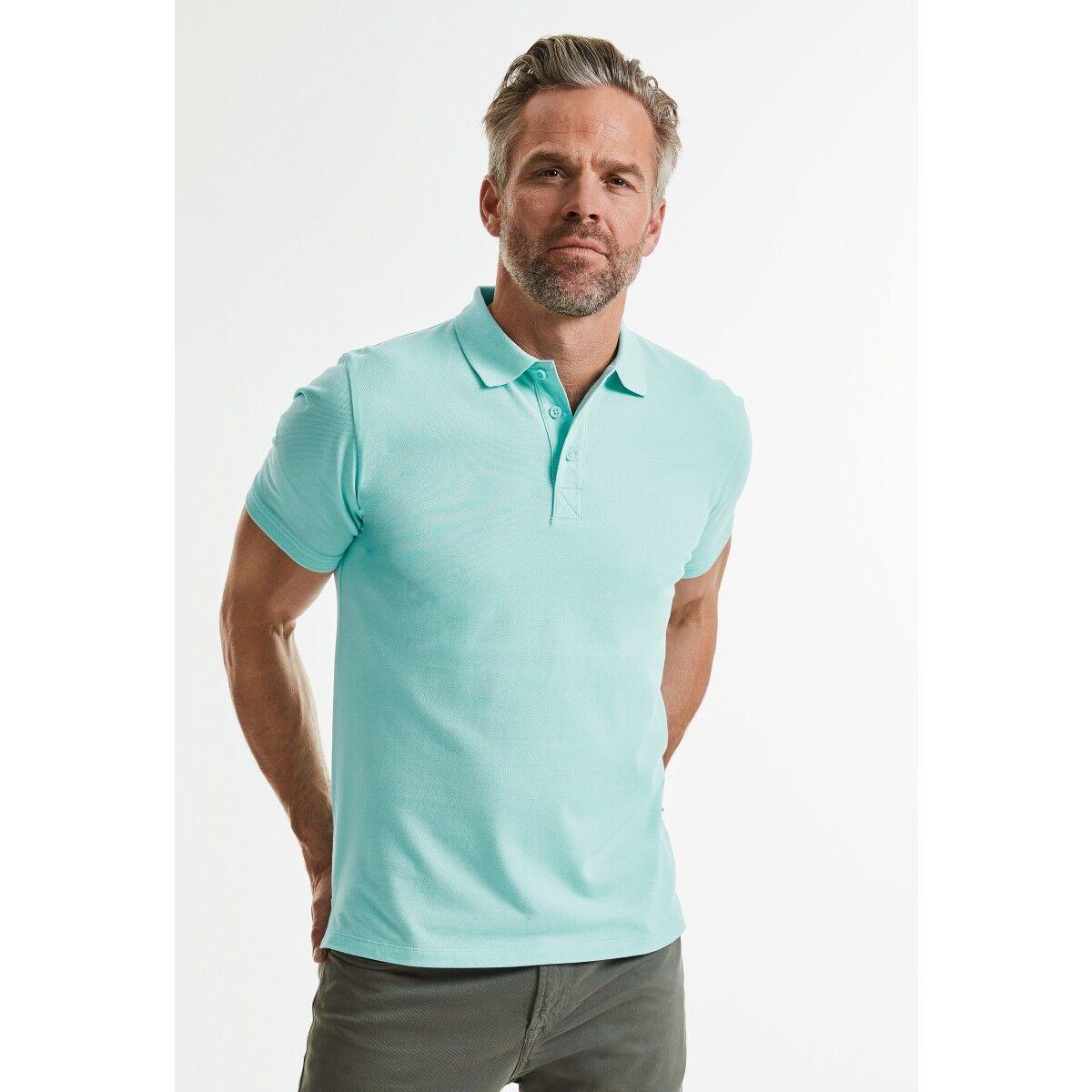 Russell Mens Organic Polo Shirts