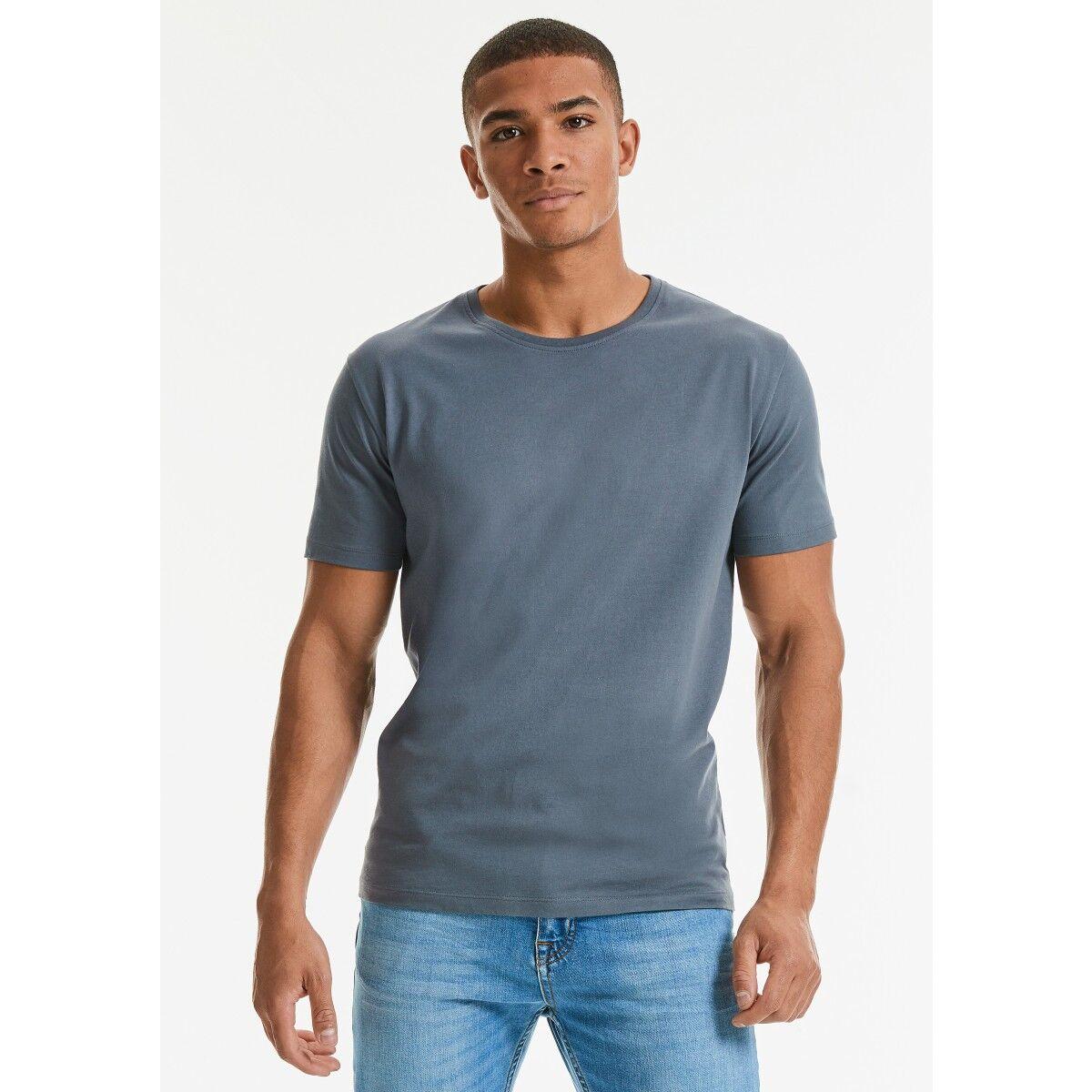 Russell Mens Organic Heavy T-shirt