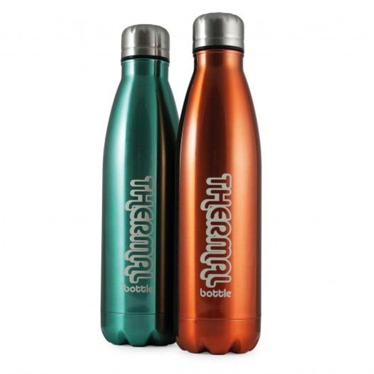 Metallic Antibac Insulated Bottle