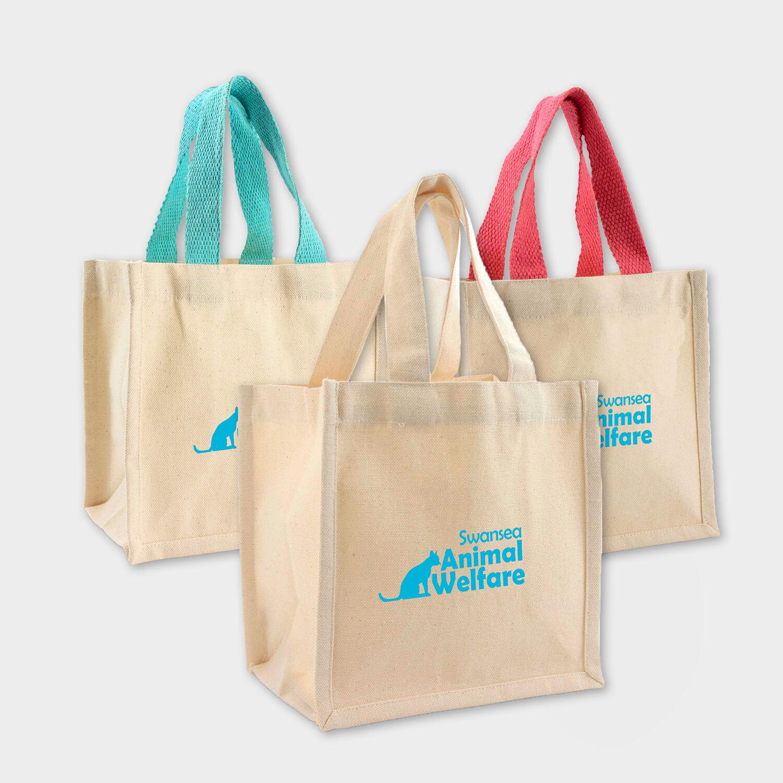 Mini Cotton Canvas Gift Bags