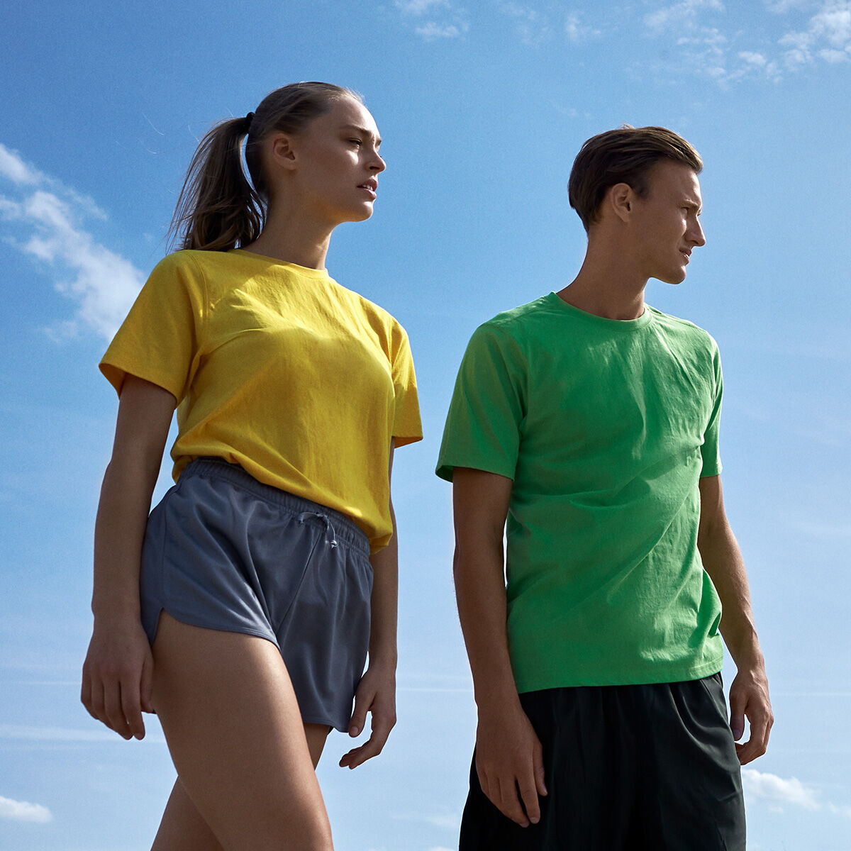 Neutral Brand Recycled Performance T-Shirts