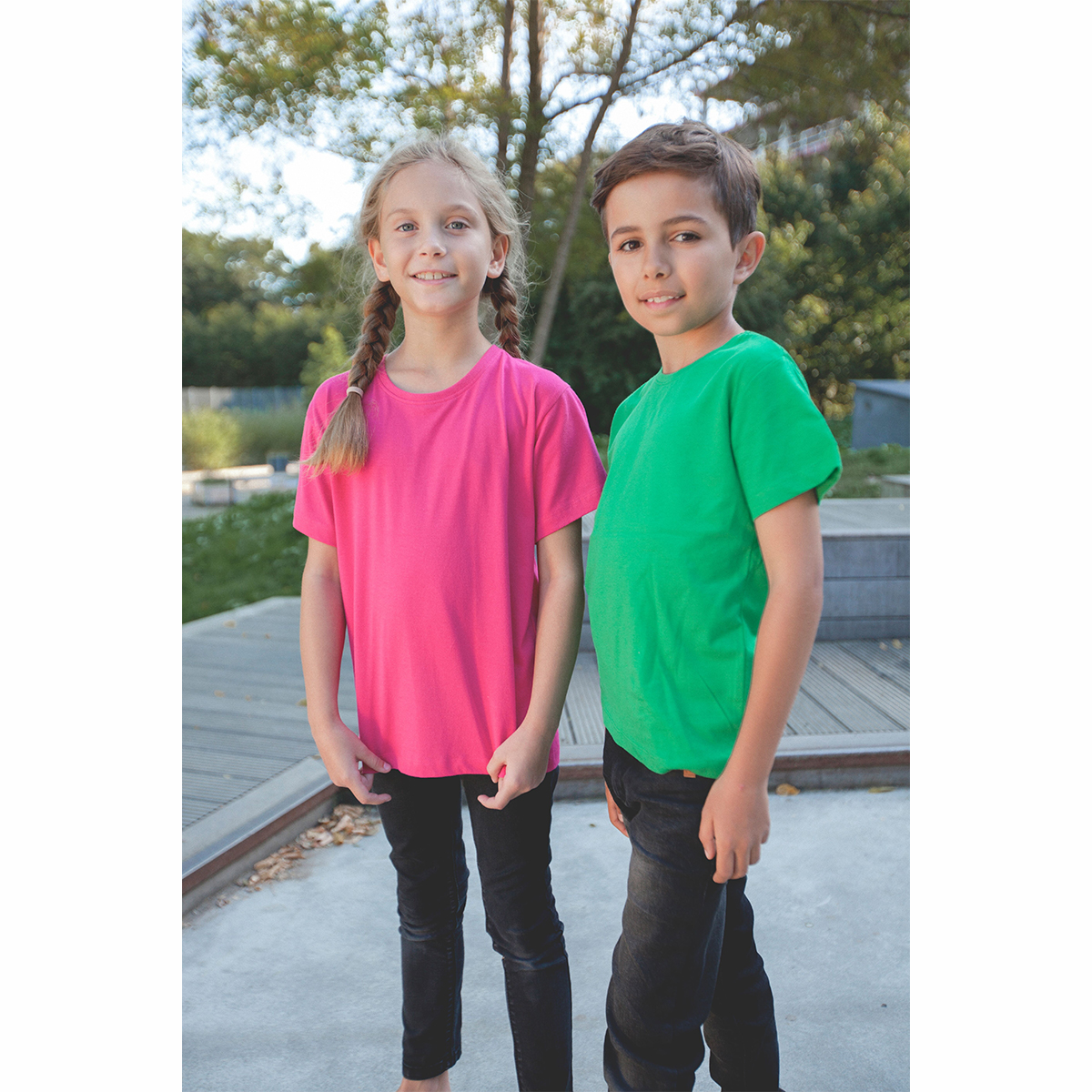 Neutral Organic Kids T-shirts