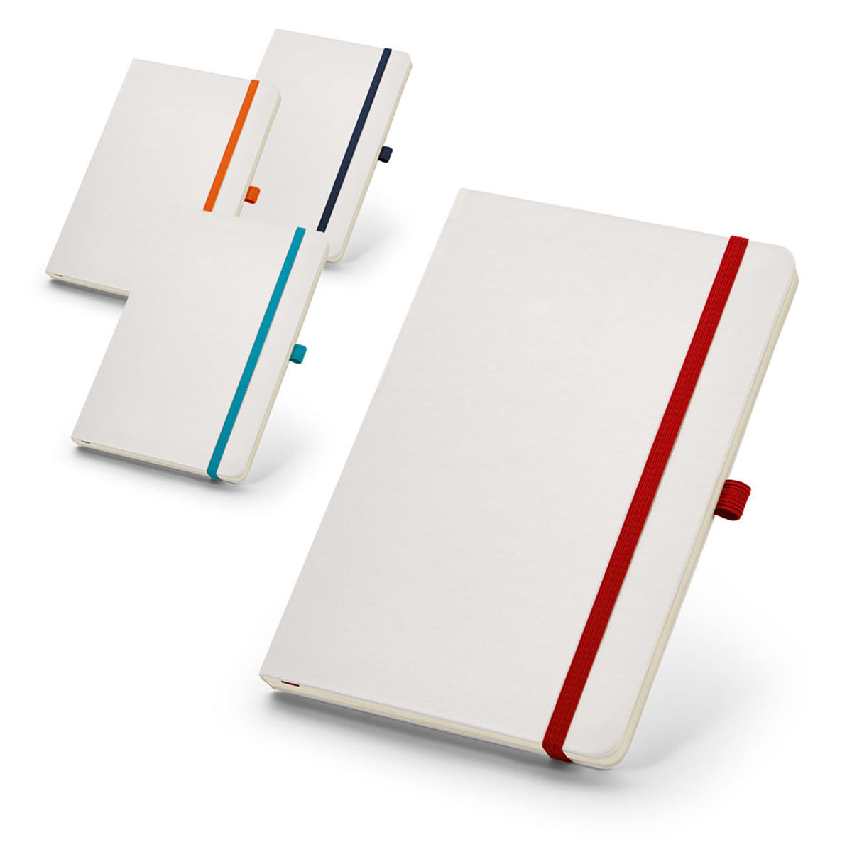 Notepad with Pen Loop colours