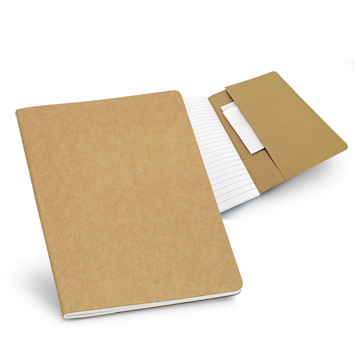 Notepad with recycled paper