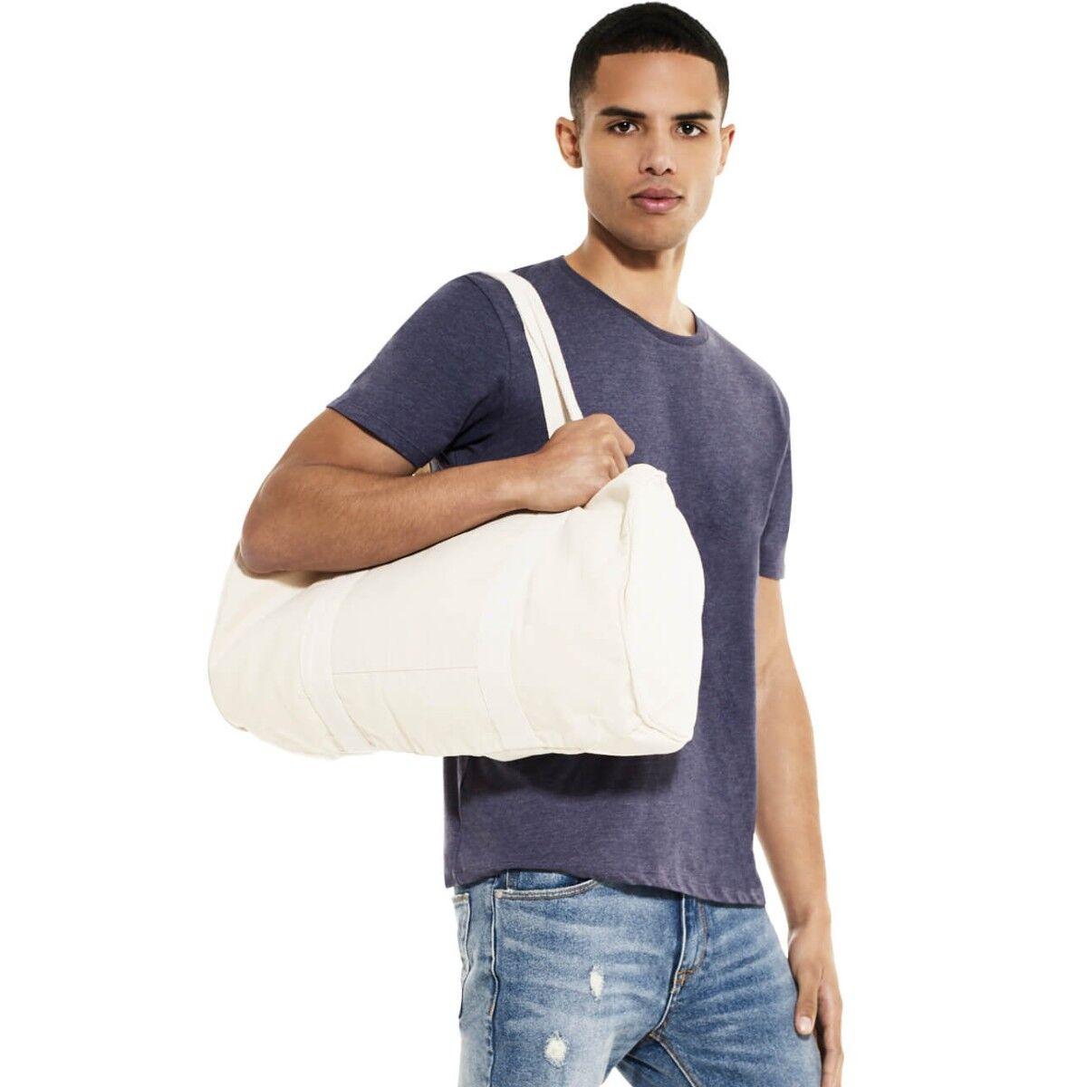 Continental Organic Canvas Barrel Bag