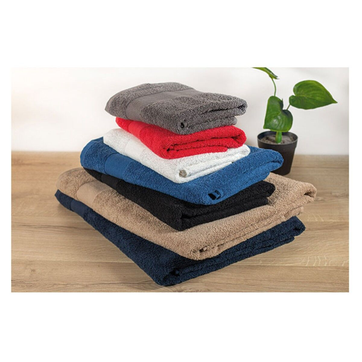 Organic Cotton Towel colours