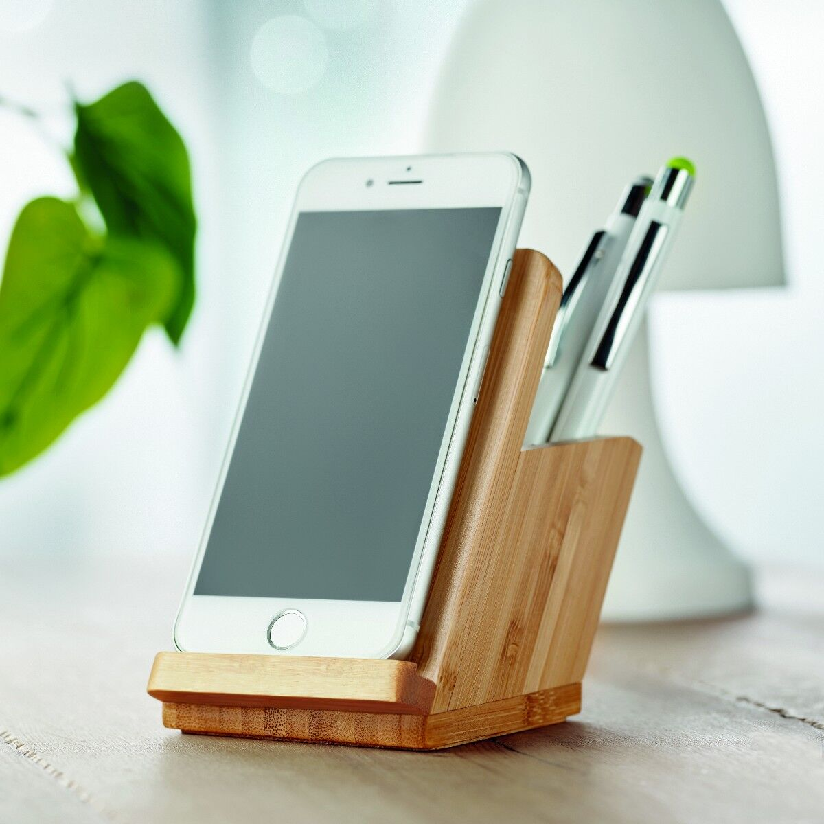 Wireless Charging Phone Stand Pen Pot