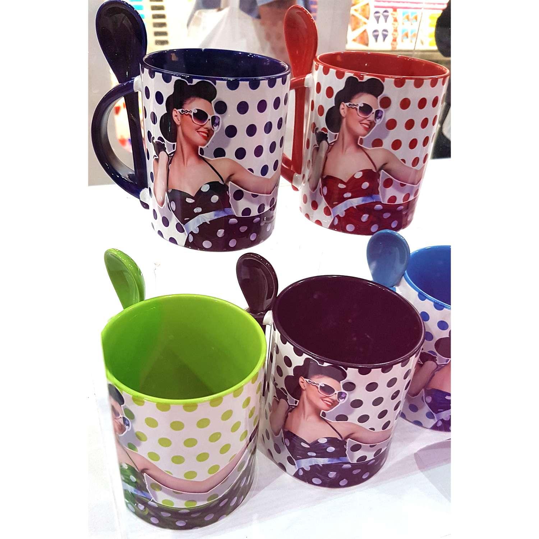 Spoon Photo Mug Pantone Matched Inner