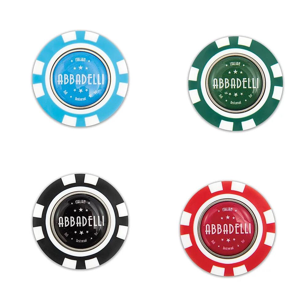 Pokerchip Golf Ball Marker