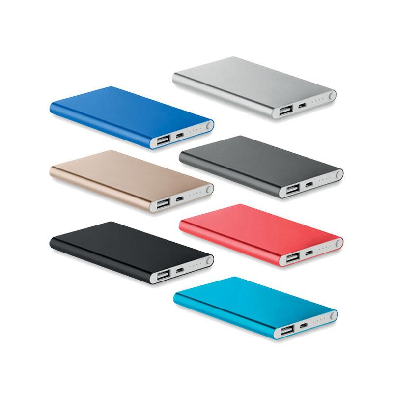 Aluminium 4000 mAh Power Bank for Smartphones