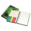 Printed Wiropod Hardback Notepad & Sticky Tabs Set