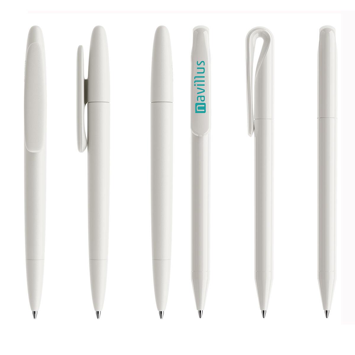 Prodir Antibacterial White Promotional Pens