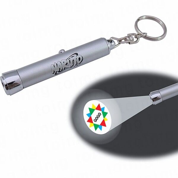 Printed Keyring with Projector Torch
