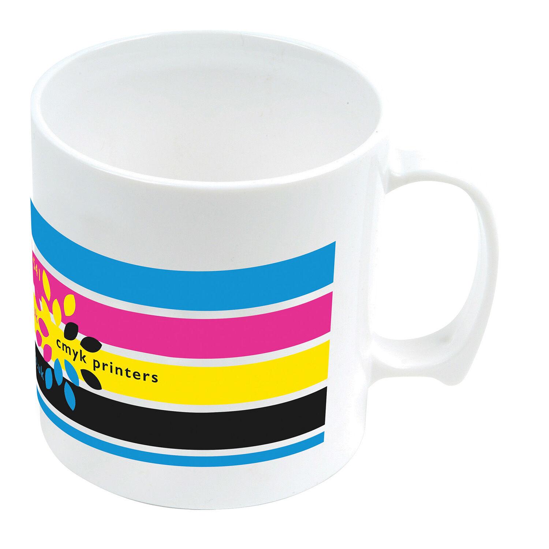Printed Promotional Plastic Mugs