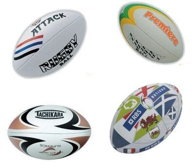 Promotional Printed Rugby Balls (Full size)