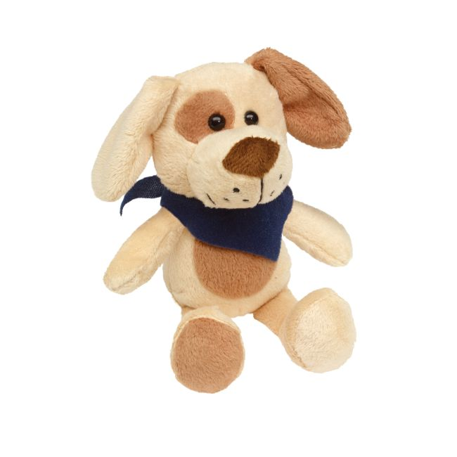Cuddly Doggy with Printable Scarf