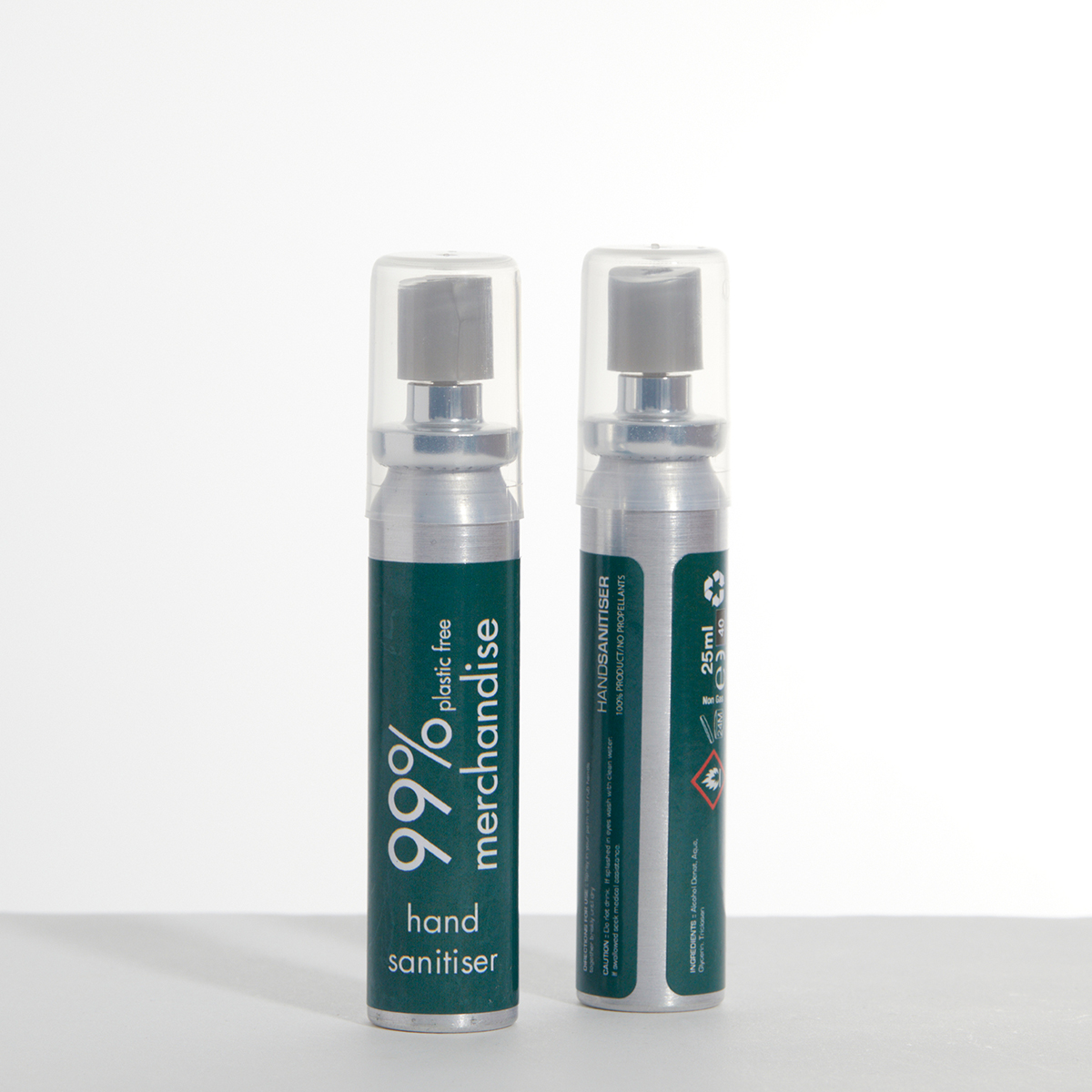 Hand Sanitizer in Aluminium Bottle 70% Alcohol