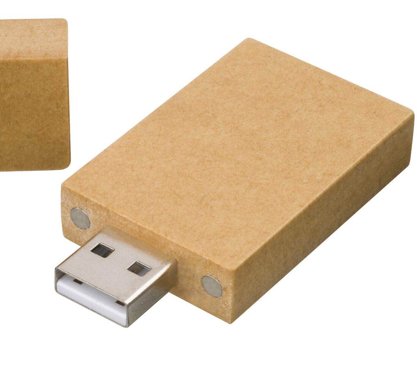 Printed USB Stick made from Recycled Paper