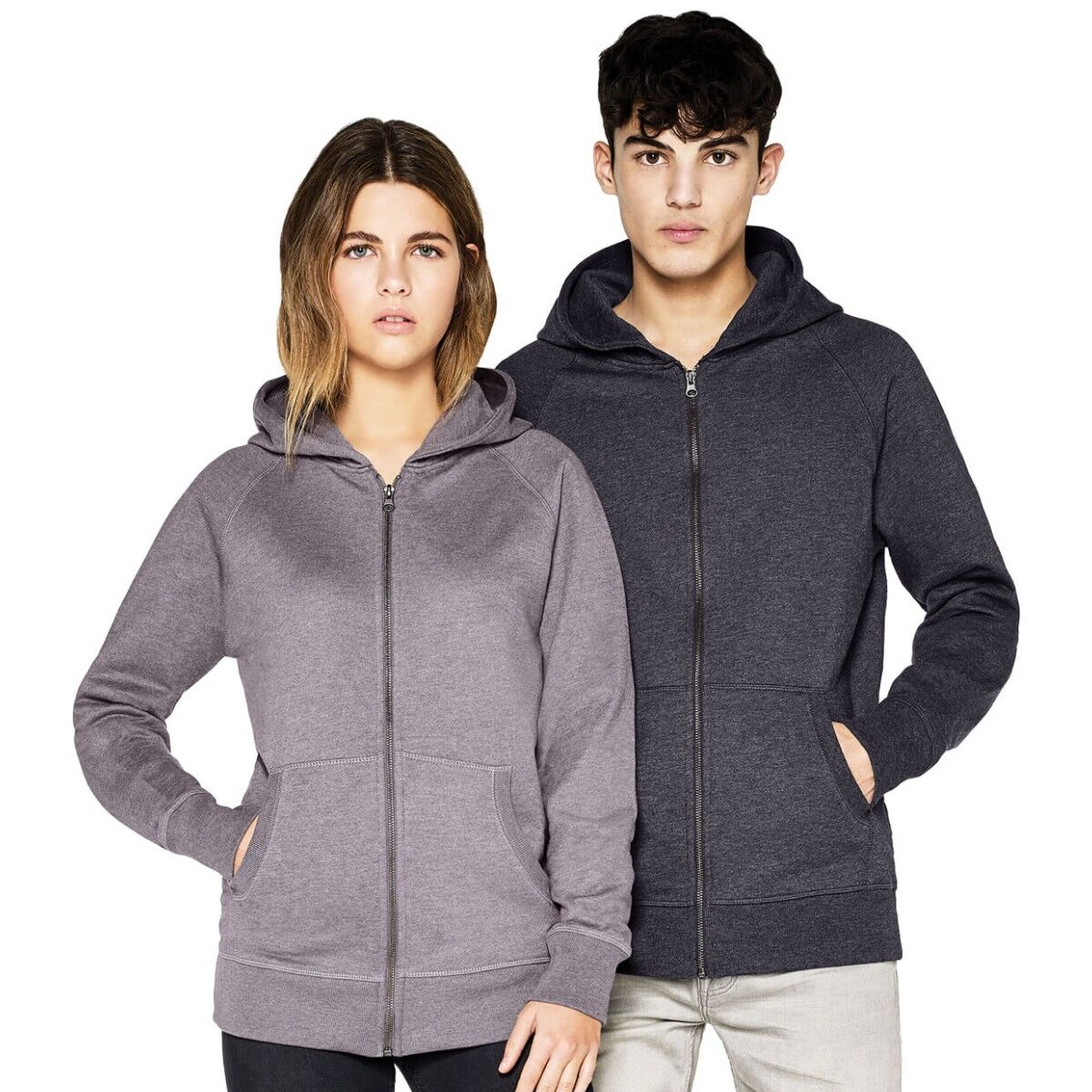 Salvage Recycled Zipped Hoody
